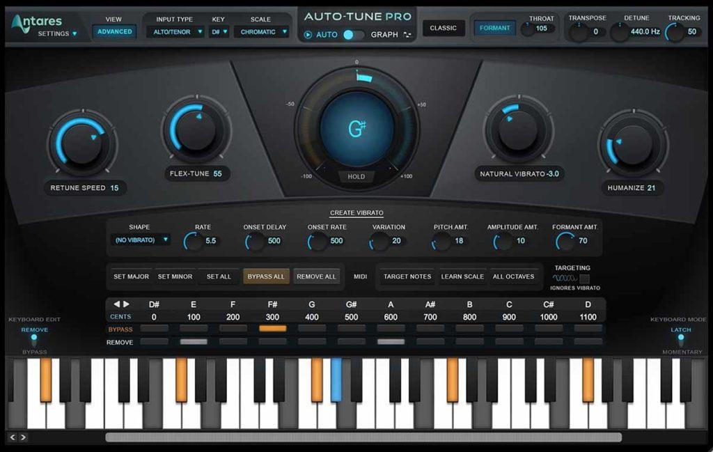 Auto-Tune Advanced Mode