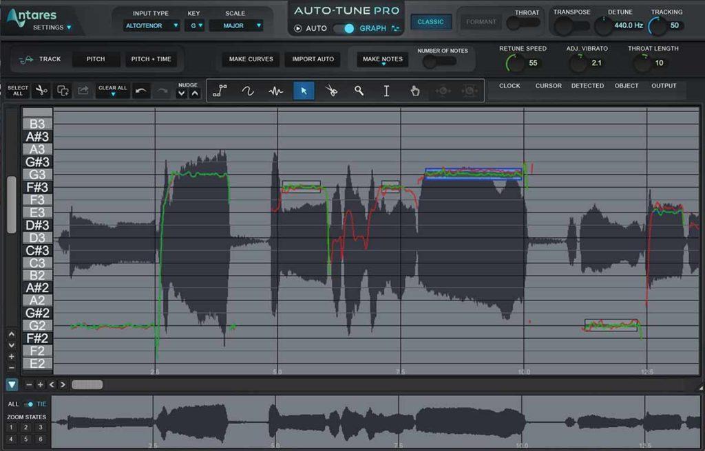 Auto-Tune Graph Mode